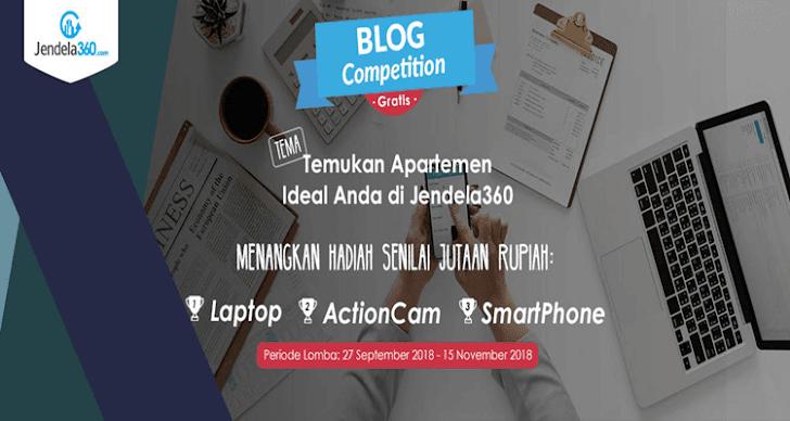 Yuk Ikutan Lomba Blog dari Jendela360 Berhadiah Gadget Menarik Senilai Jutaan Rupiah!