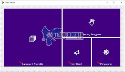 Tutorial Cara Membuat Metro UI Menu di Delphi 7 Seperti Windows 10