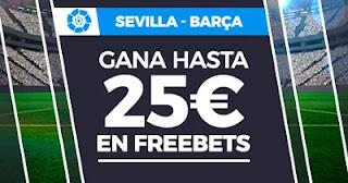 Paston promo Sevilla vs Barcelona 27-2-2021
