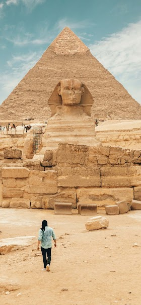 Sphinx in Egypt wallpaper