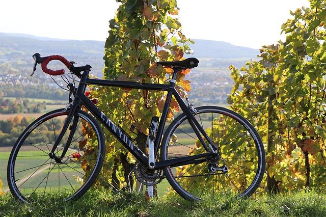 Balade à vélo dans le beaujolais près de Lyon
