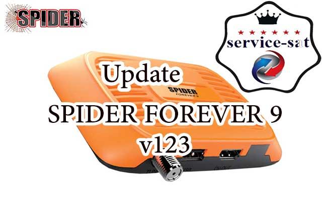 تحديث جديد لجهاز SPIDER FOREVER 9