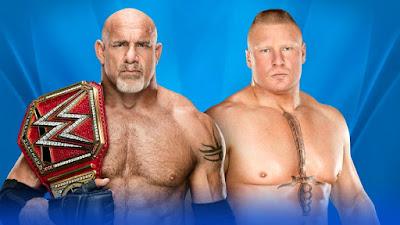 Universal Champion Goldberg vs Brock Lesnar