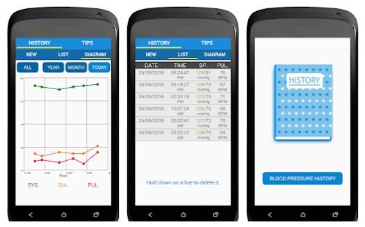تنزيل تطبيقات قياس نسبة الأكسجين وضغط الدم apk مجانا