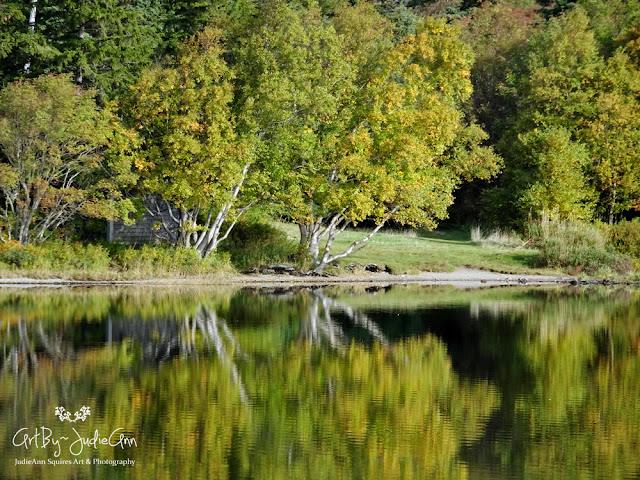 Autumn Reflections Print