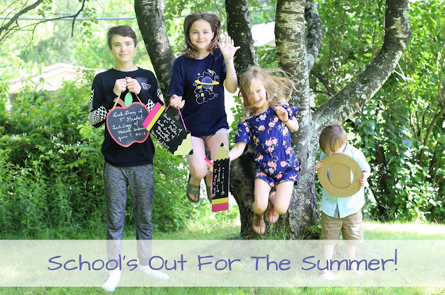 School's Out for the Summer!