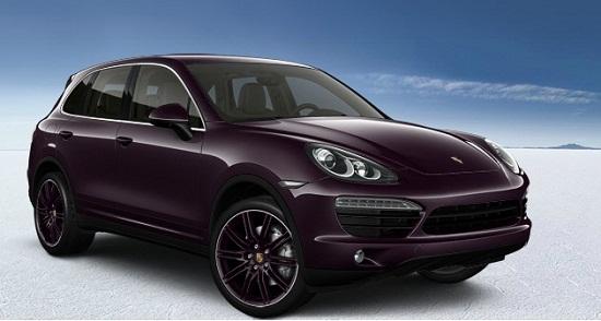 mobil ungu tua