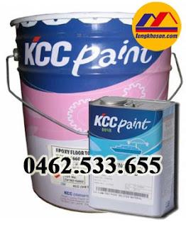 Sơn epoxy chống thấm KCC EH2351 dùng cho hồ xử lý nước thải