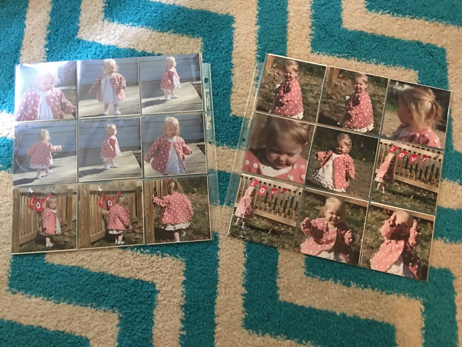 Marla Plain And Small Photo Album With 4x4 Square Prints