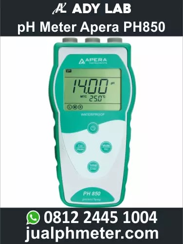 pH Meter Apera PH850 | Ady Lab Jual pH Meter Air Apera Instruments, Hanna, Ionix, Lutron