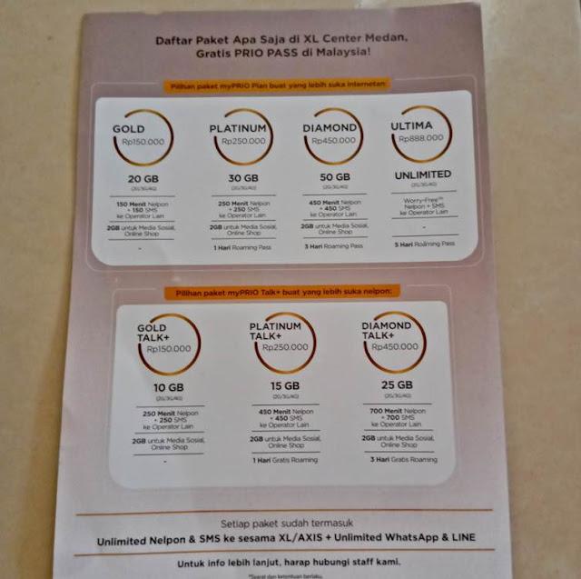 Gratis XL Prio Pass Selama Traveling di Malaysia dan Singapura