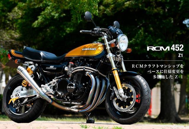 Sanctuary RCM 452 - Kawasaki Z900 Z1 Restomod