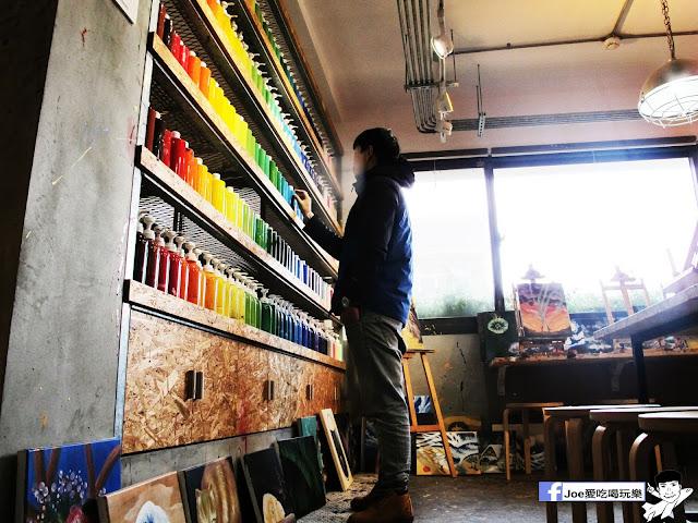 IMG 6515 - CMYK GALLERY | 集會畫教室、藝廊、餐廳於一身的特色餐廳,色彩繽紛的用餐環境,令人賞心悅目,也讓網美們為之瘋狂!