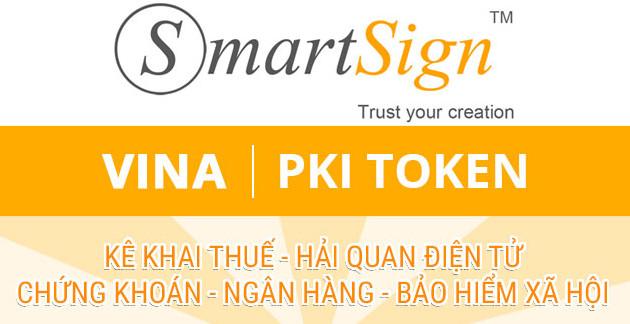 BẢNG BÁO GIÁ CHỮ KÝ SỐ VINA - Gia hạn chữ ký số Smartsign