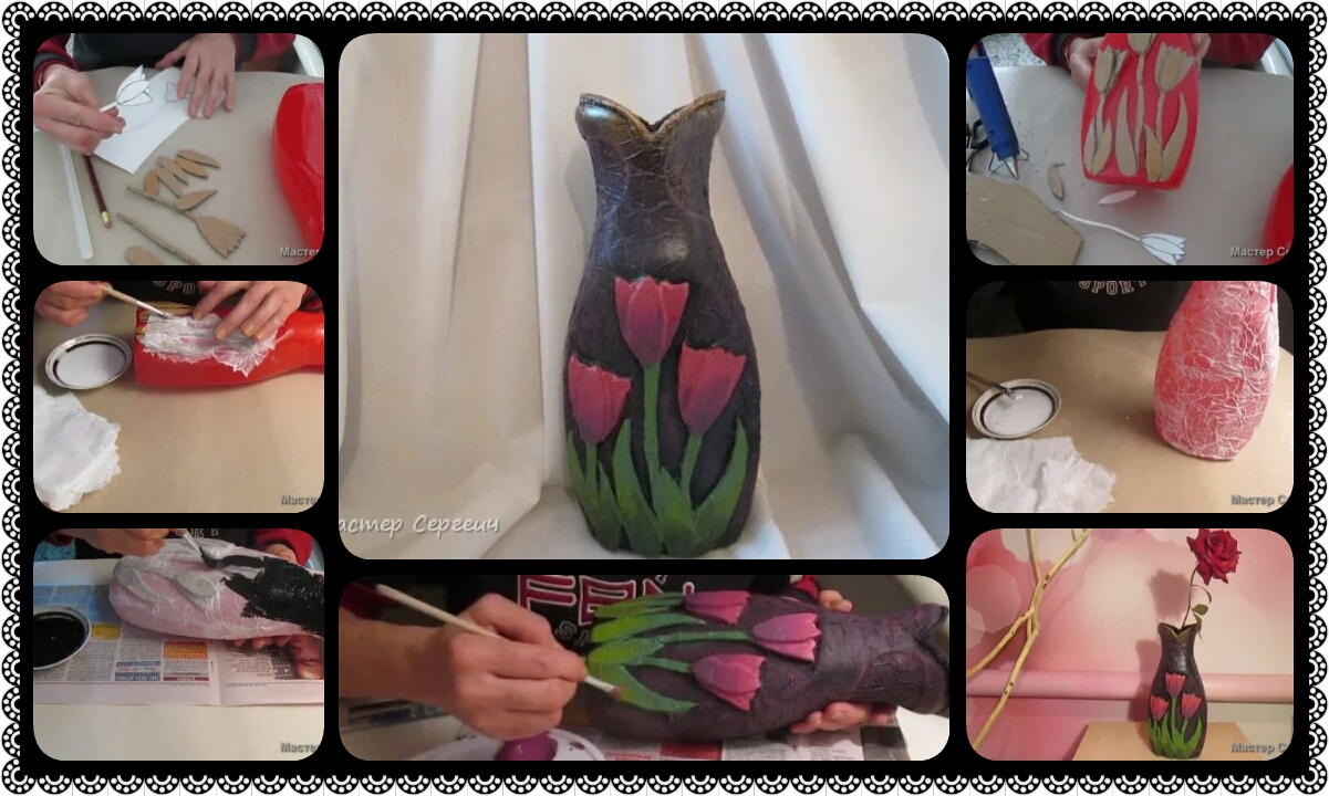 How to make vase from waste material crazzy craft how to make vase from waste material reviewsmspy