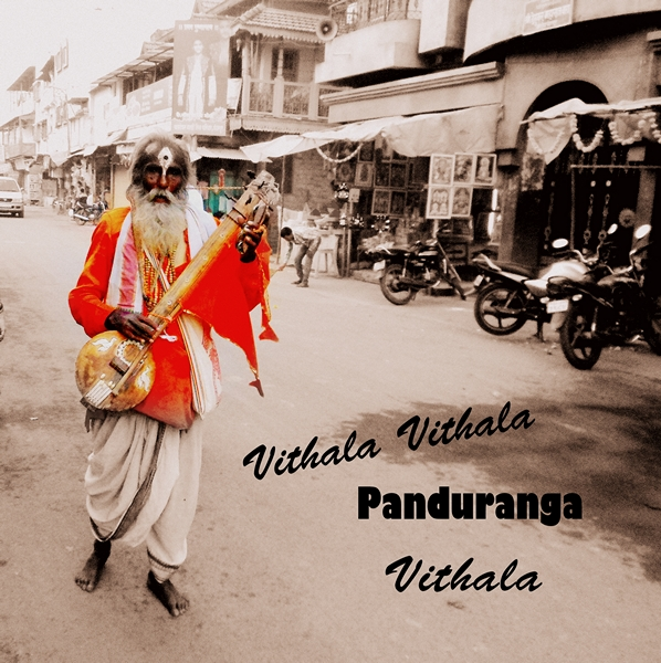 A saint on the way to his Pandharpur yatra