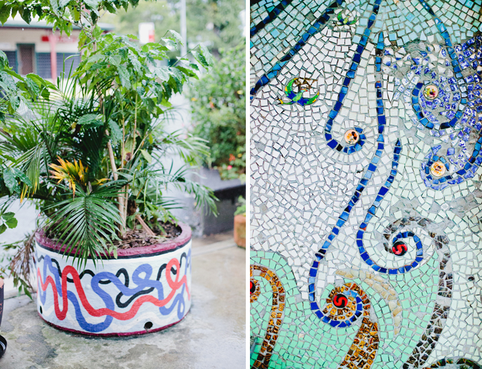 mosaics and art in nimbin