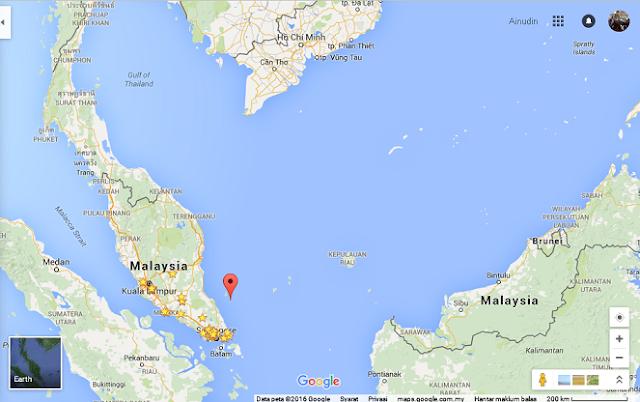 Pemanggil Island, Malaysia