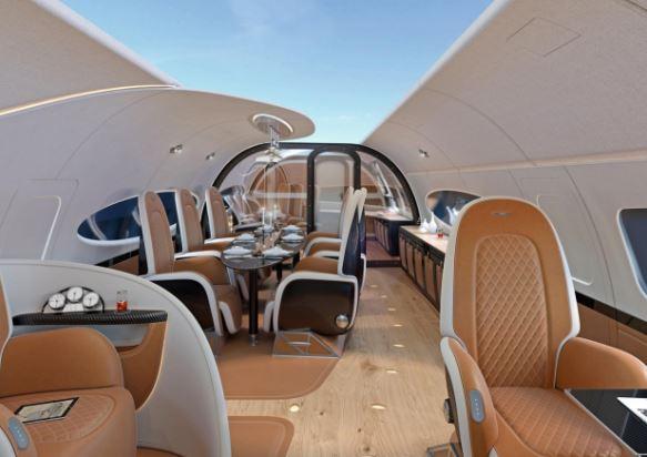 Airbus ACJ319neo interior