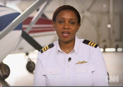 South Africa's First Black Female Pilot Asnath Mahapa