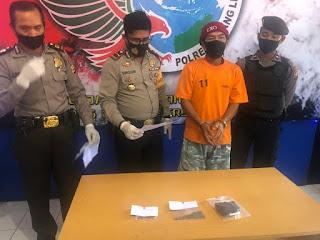 Konferensi Pers Pengungkapan tindak pidana Narkotika oleh Polsek Bermani Ulu.