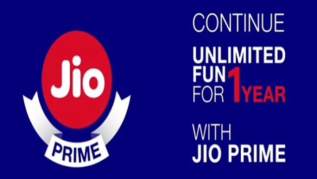 Reliance Jio Prime Membership Started