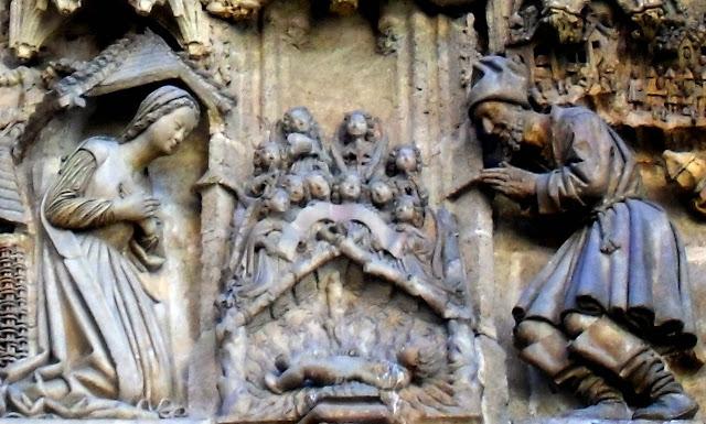 Resultado de imagen de puerta de SAN MIGUEL de la catedral de sevilla