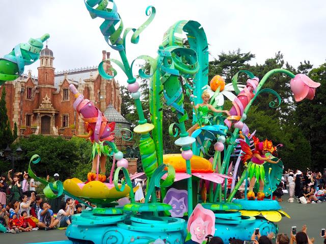 Tinkerbell float, Tokyo Disneyland, Japan