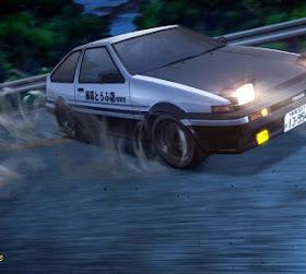 36 Mobil yang Ada di Anime Initial D dan Spesifikasinya