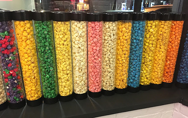 Different Flavors of Popcorn at Remix Popcorn and Delights