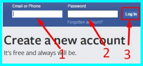 www Facebook Login