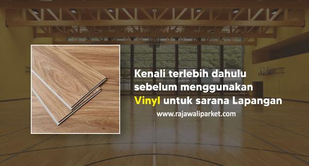Lantai vinyl untuk lapangan
