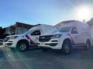 Itabuna recebe duas ambulâncias