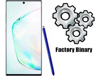Samsung Galaxy Note 10 SM-N970F Combination Firmware