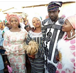 Wedding Photos Of The Man Who Married Three Wives On Same Day