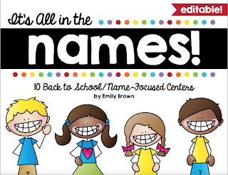 https://www.teacherspayteachers.com/Product/Name-Center-Activities-Editable-2492407