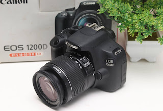 Jual Canon eos 1200D Bekas Malang