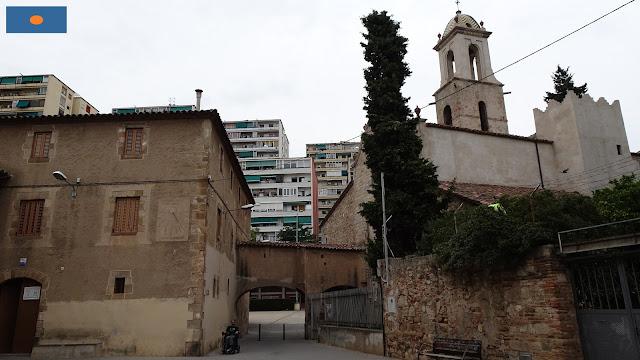 Despatx parroquial de Sant Martí de Provençals, rellotge de sol