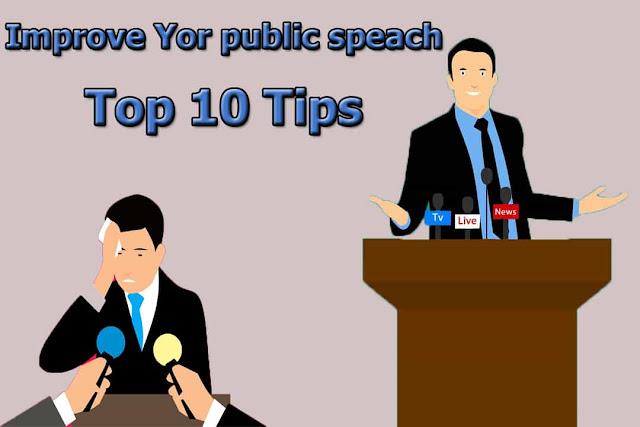 Top 10 Tips improve Your Public Speaking