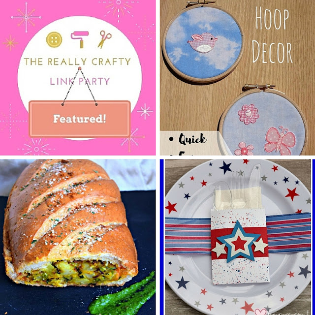 The Really Crafty Link Party #25 featured posts!