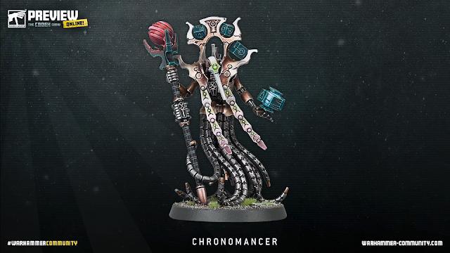 Chronomante Necrón