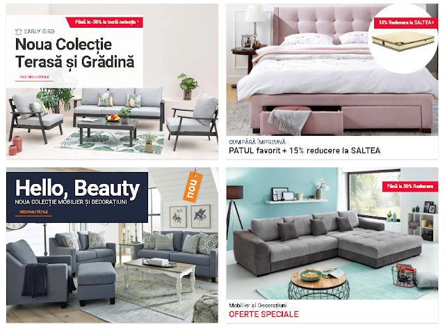 MobExpert Promotii 1-31 Martie 2021 → Hello Beauty! Noua colecție de mobilier și decorațiuni