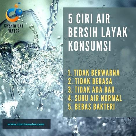 Ciri-ciri Air Minum yang Aman Dikonsumsi