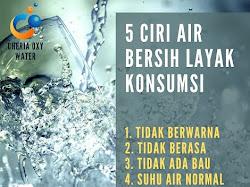 5 Ciri Air Minum yang Aman Dikonsumsi Setiap Hari