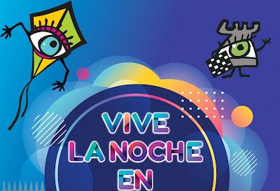 Programa Vive la Noche en Badajoz 2020.