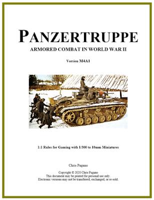 Panzertruppe Rules
