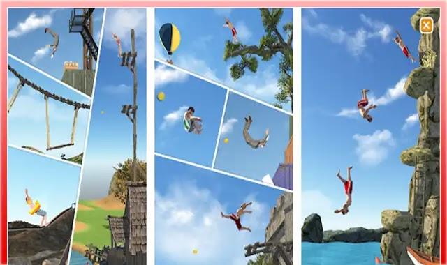تحميل لعبة flip diving مهكرة اخر اصدار