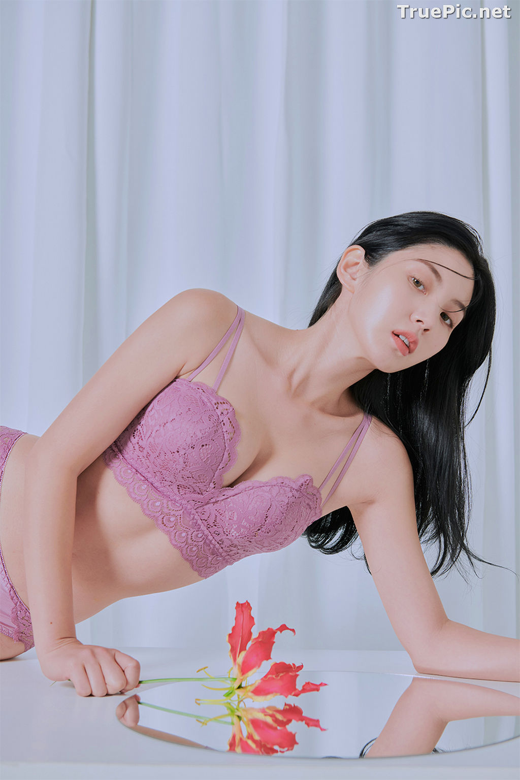 Image Korean Fashion Model – Lee Chae Eun (이채은) – Come On Vincent Lingerie #4 - TruePic.net - Picture-1