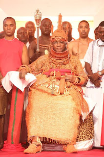 The monarch Omo  N' Oba Ewuare