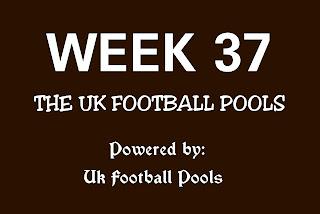 WK37 UK football pools draws by Ukfootballplus